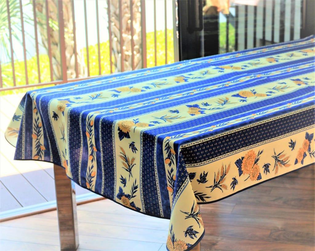 Sunflower-Blue & Sunflower Blue - Provence Tableware